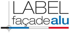 Label façade alu